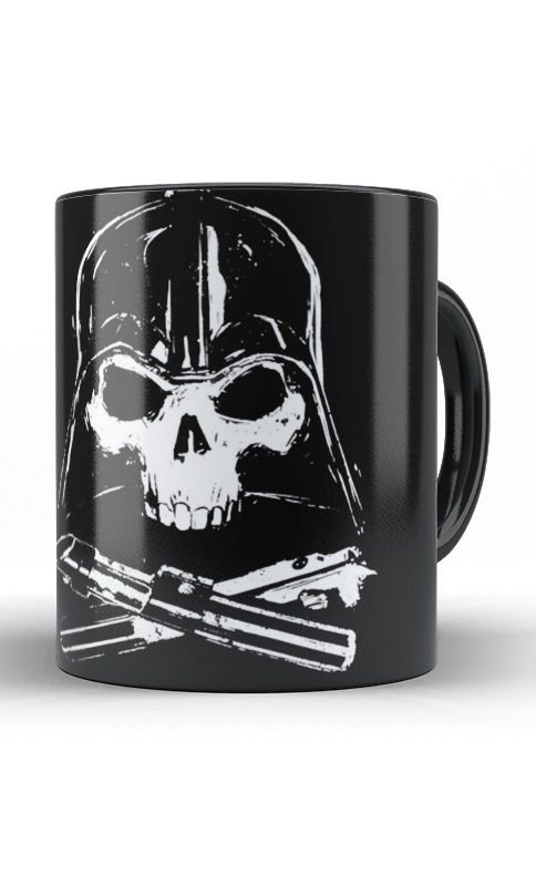Caneca Star Wars - Darth Vader Skull