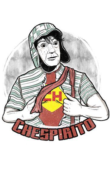 Camiseta  Chespirito -Chaves