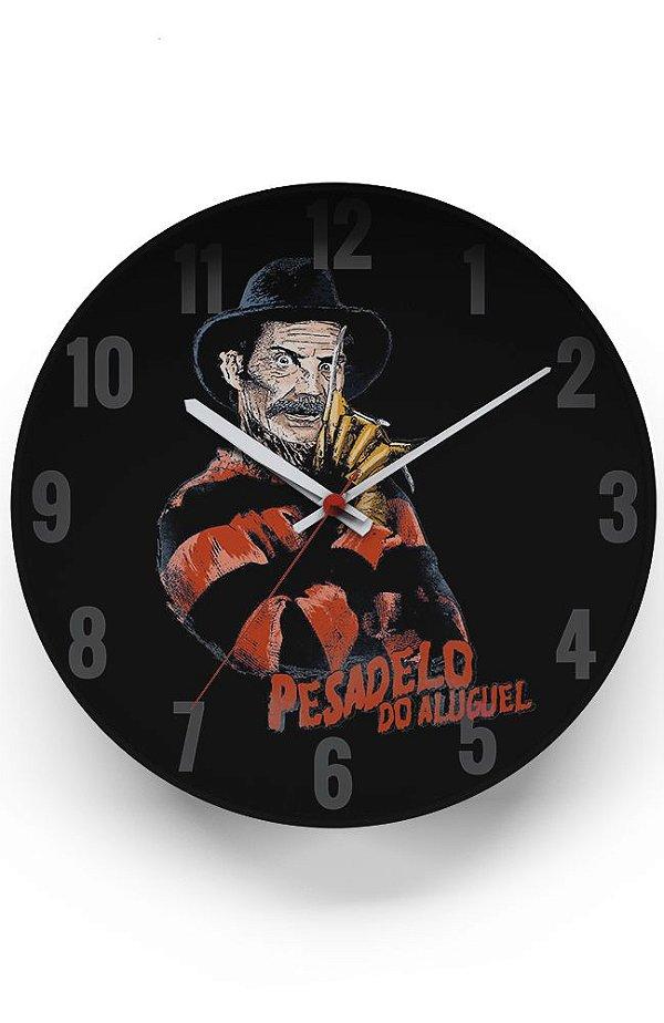 Relógio de Parede Pesadelo do Aluguel - Serie Chaves - Nerd e Geek - Presentes Criativos