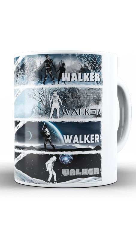 Caneca Walker - Nerd e Geek - Presentes Criativos