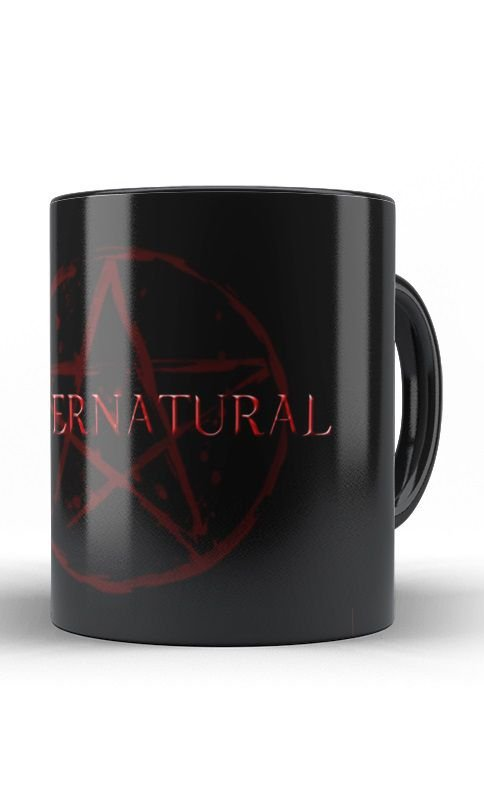 Caneca Supernatural - Nerd e Geek - Presentes Criativos