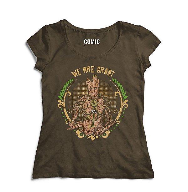 Camiseta Guardiões da Galáxia - Groot