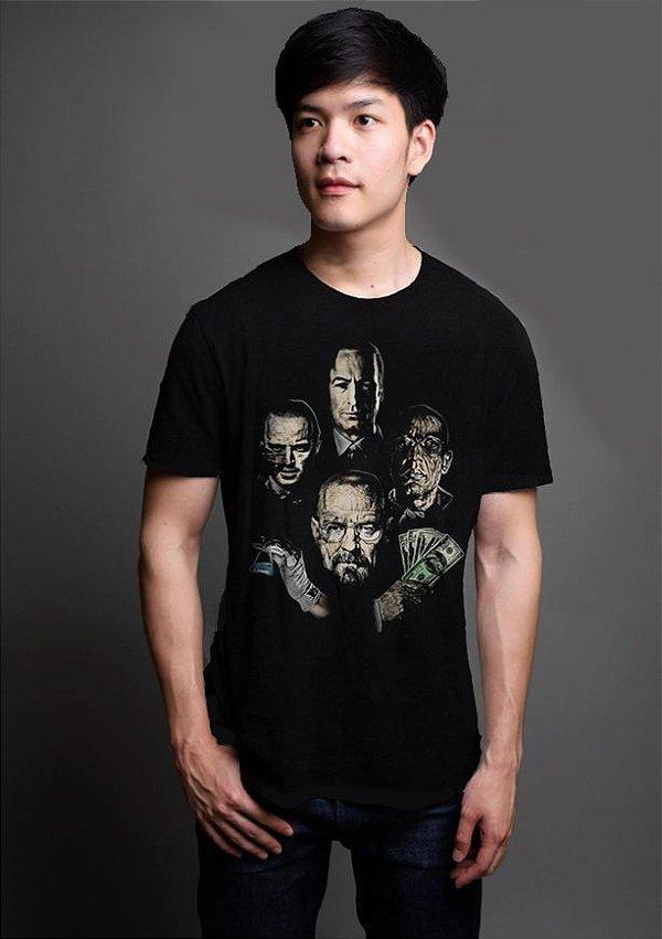 Camiseta Masculina  Breaking Rhapsody - Nerd e Geek - Presentes Criativos