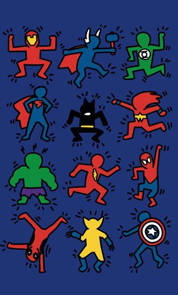 Camiseta Super Herois