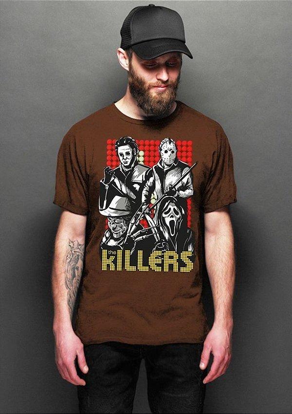 Camiseta Masculina  Killers - Nerd e Geek - Presentes Criativos