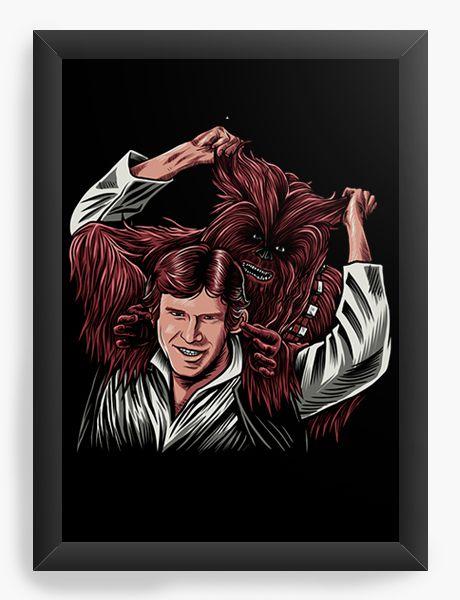 Quadro Decorativo Star Wars - Han Solo