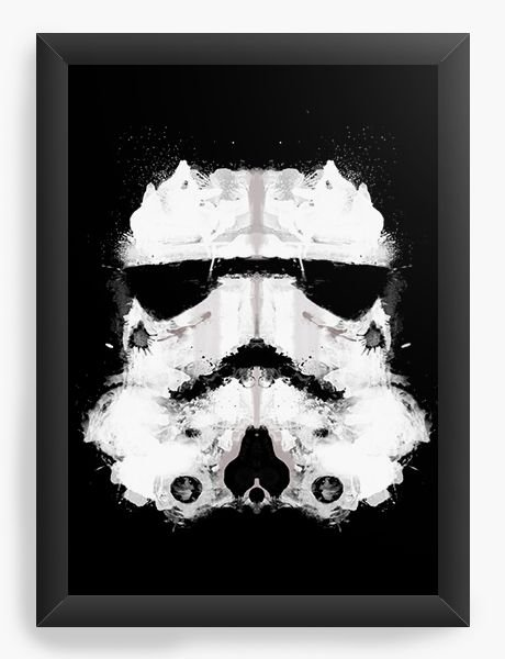 Quadro Decorativo Star Wars Stormtrooper