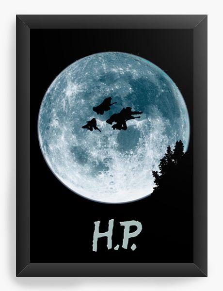 Quadro Decorativo Harry Potter - ET