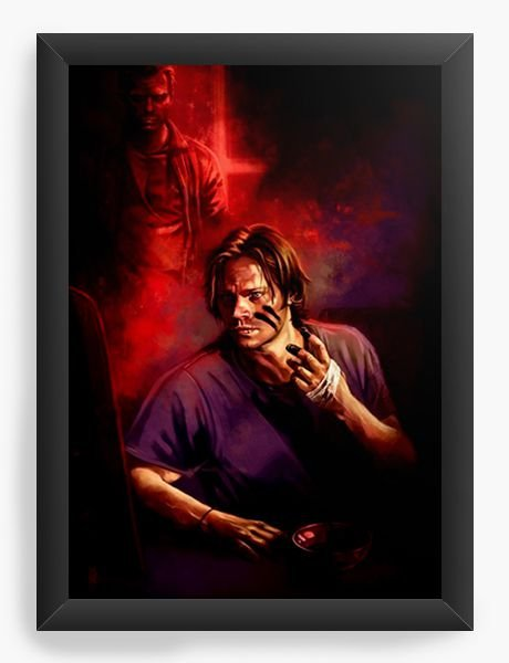 Quadro Decorativo Supernatural - Sam