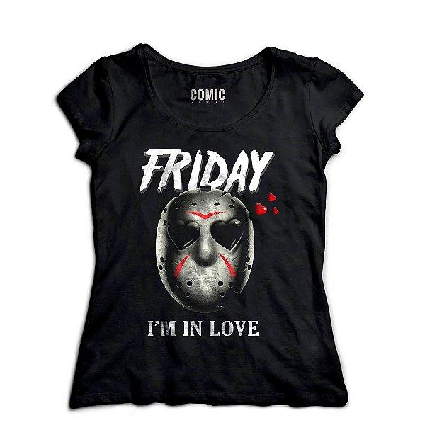 Camiseta Feminina Jason Friday
