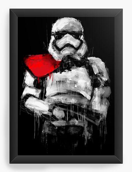 Quadro Decorativo Stormtrooper - Star Wars
