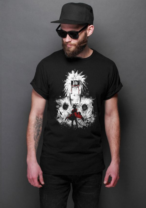 Camiseta Masculina  Sennin Modo - Nerd e Geek - Presentes Criativos