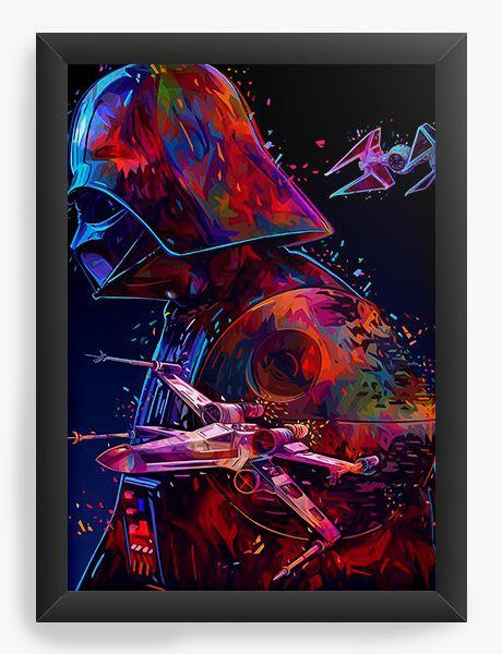 Quadro Decorativo Dart Vader - Filme
