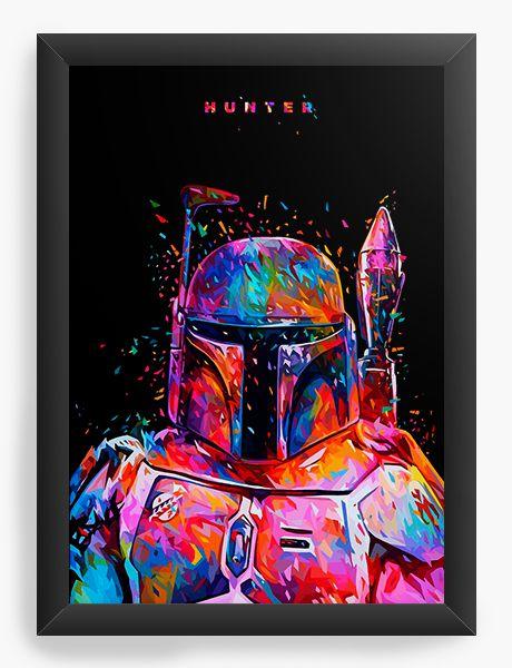 Quadro Decorativo Star Wars - Boba