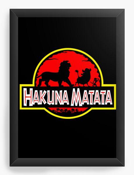 Quadro Decorativo Hakuna Matata