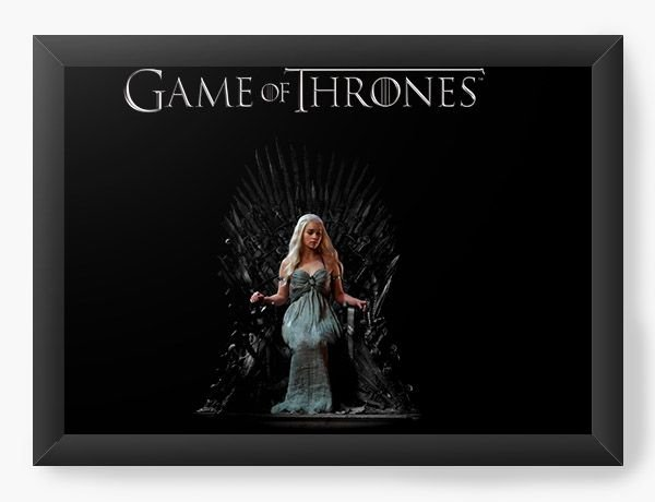 Quadro Decorativo Game of Thrones - Daenerys Targaryen
