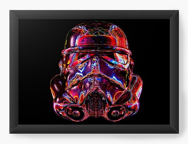 Quadro Decorativo Star Wars - Stormtrooper