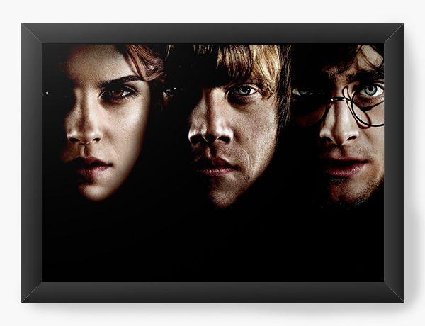 Quadro Decorativo Harry Potter - Filme