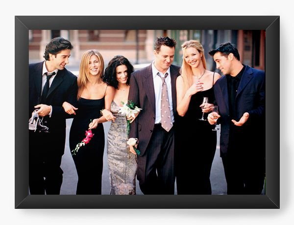 Quadro Decorativo Friends - Serie