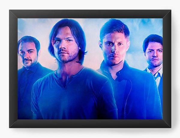 Quadro Decorativo Supernatural - Dean e Sam
