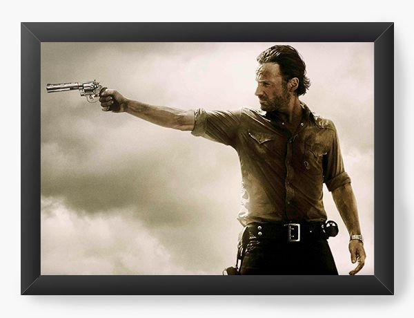 Quadro Decorativo The Walking Dead - Rick