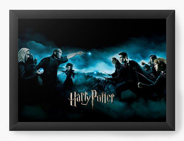 Quadro Decorativo Harry Potter - Lados