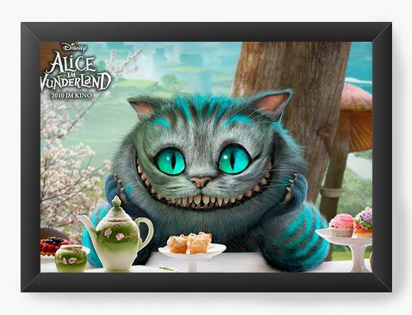 Quadro Decorativo Alice no País das Maravilhas