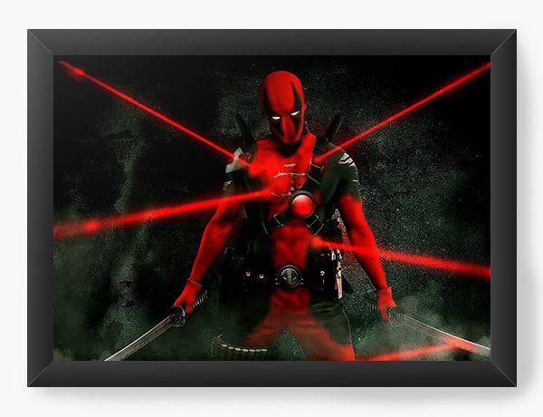 Quadro Decorativo Deadpool