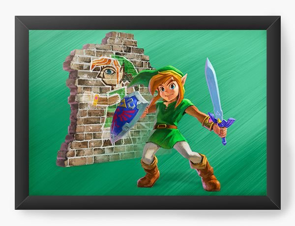 Quadro Decorativo The Legend of Zelda the Sword