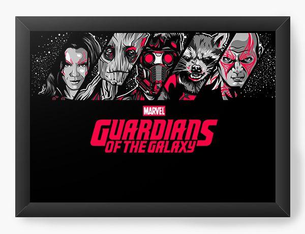 Quadro Decorativo Guardiões da Galáxia