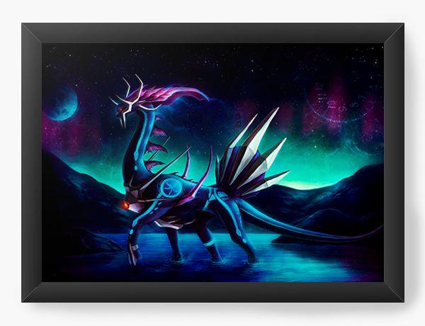 Quadro Decorativo Pokemon - Nerd e Geek - Presentes Criativos