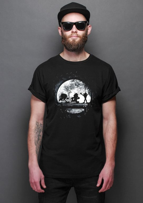 Camiseta Masculina  Sonic, Mario e Crash Bandicoot - Hakuna matata - Nerd e Geek - Presentes Criativos