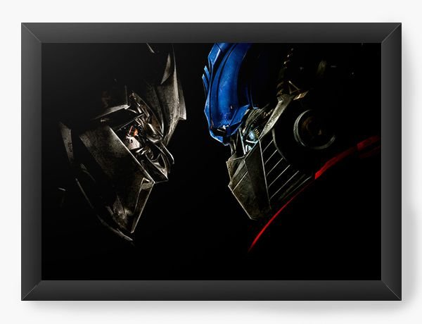 Quadro Decorativo Transformers - Optimus Prime - Nerd e Geek - Presentes Criativos