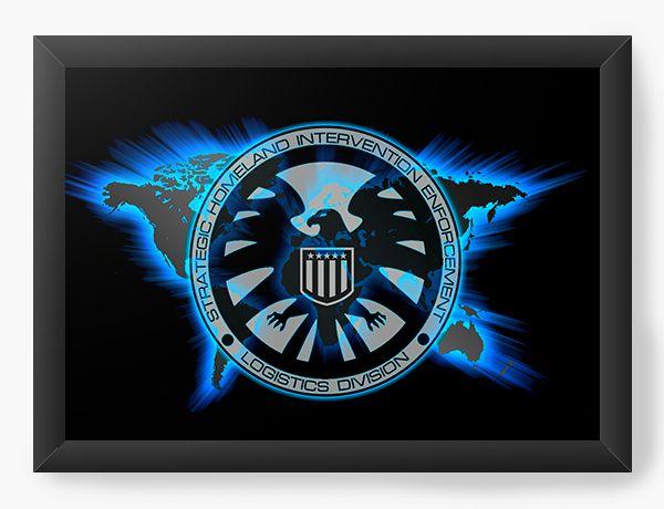 Quadro Decorativo Agentes da S.H.I.E.L.D.