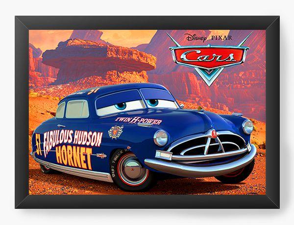 Quadro Decorativo Cars Doc Hudson