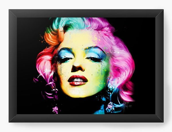 Quadro Decorativo Marilyn Monroe - Nerd e Geek - Presentes Criativos