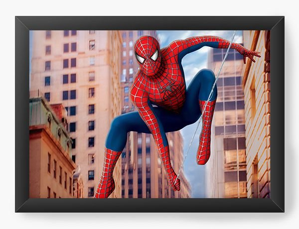 Quadro Decorativo Spider-Man