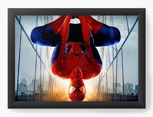 Quadro Decorativo Spider-man on the bridge