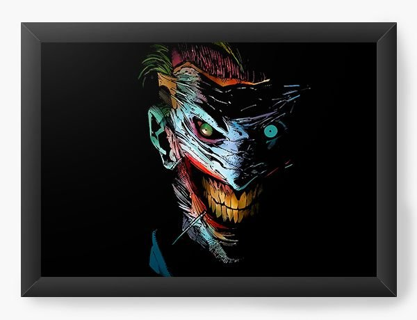 Quadro Decorativo Coringa - Smile