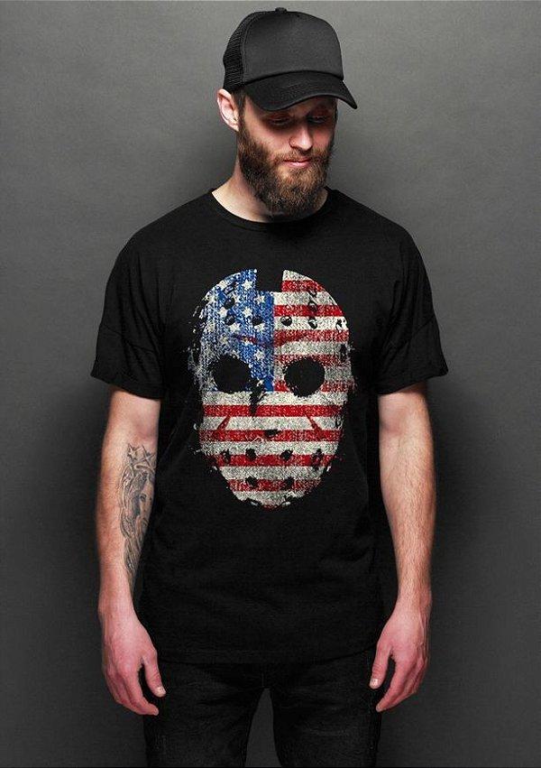 Camiseta Masculina  Jason - Nerd e Geek - Presentes Criativos
