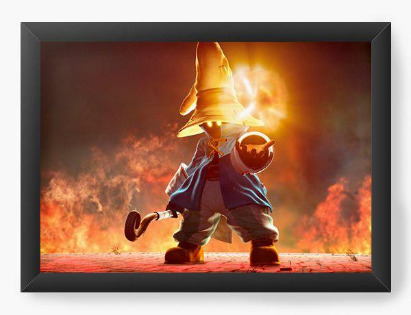 Quadro Decorativo Final Fantasy - Nerd e Geek - Presentes Criativos