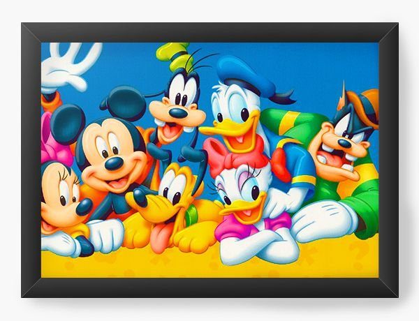 Quadro Decorativo Disney - Turma do Mickey