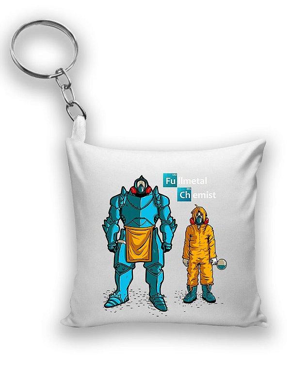 Chaveiro Fullmetal Chemist - Nerd e Geek - Presentes Criativos