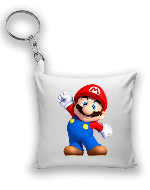 Chaveiro Super Mario - Game - Nerd e Geek - Presentes Criativos
