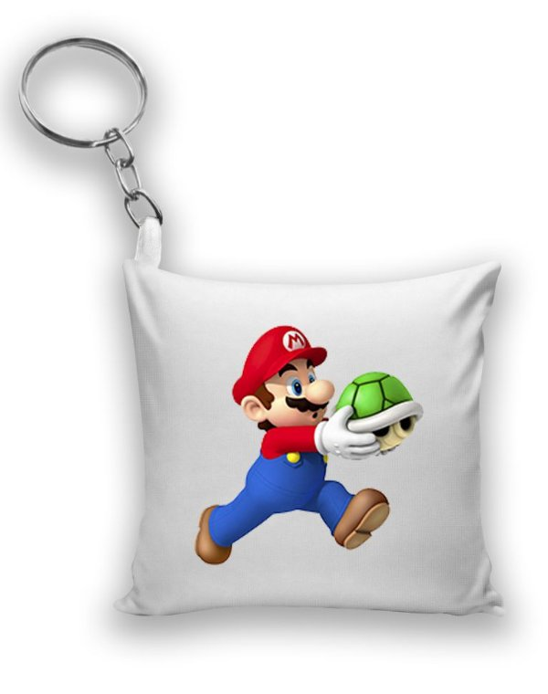 Chaveiro Super Mario Word - Nerd e Geek - Presentes Criativos