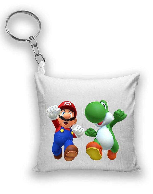 Chaveiro Super Mario e Yoshi