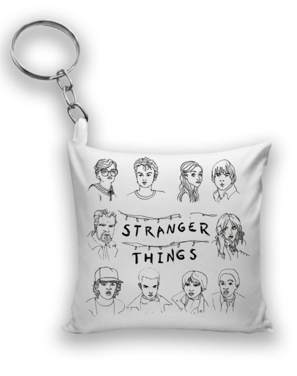 Chaveiro Stranger Things - Nerd e Geek - Presentes Criativos