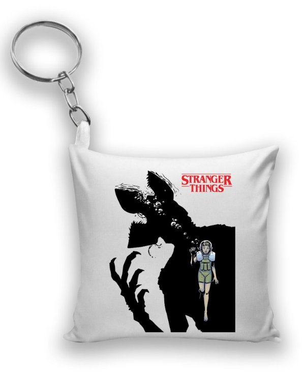Chaveiro Stranger Things - Demogorgon - Nerd e Geek - Presentes Criativos