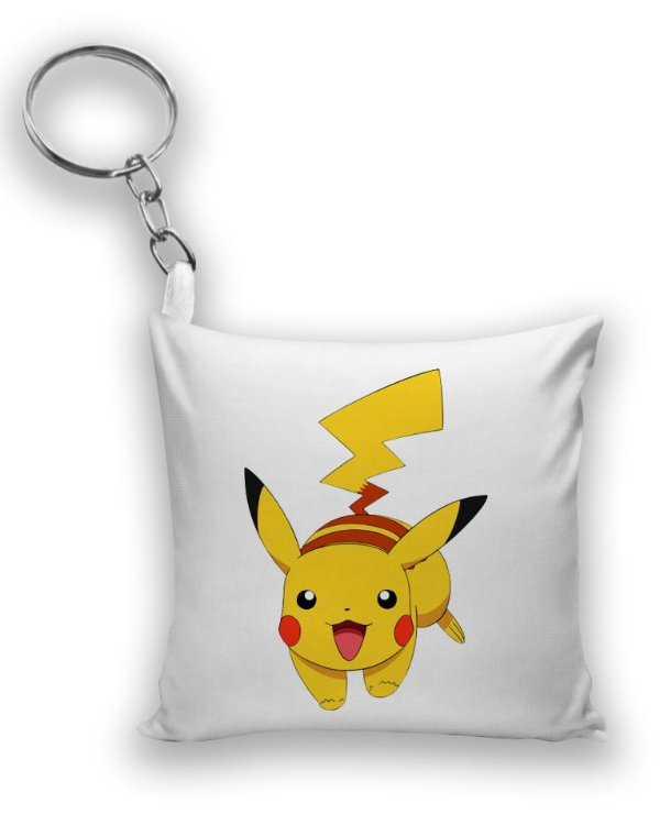 Chaveiro Pikachu - Pokemon - Nerd e Geek - Presentes Criativos