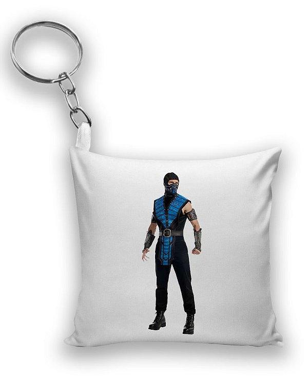 Chaveiro Mortal Kombat - Sub Zero - Nerd e Geek - Presentes Criativos